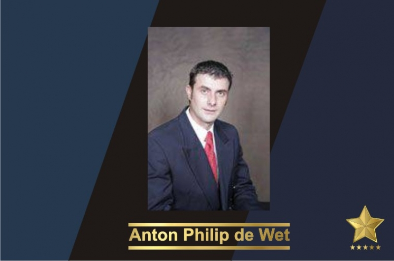 Mr Anton Philip de Wet